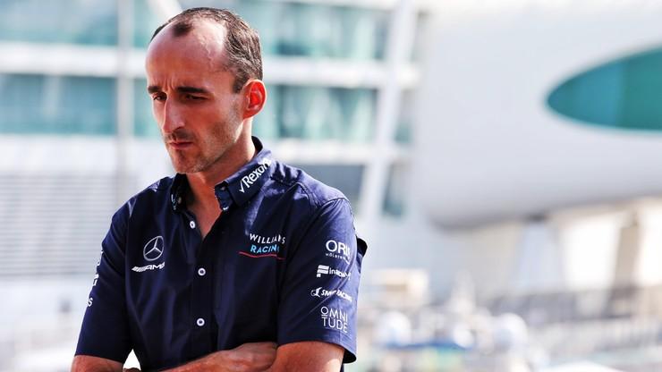 Formuła 1: Kubica poznał miejsce i termin pierwszych testów