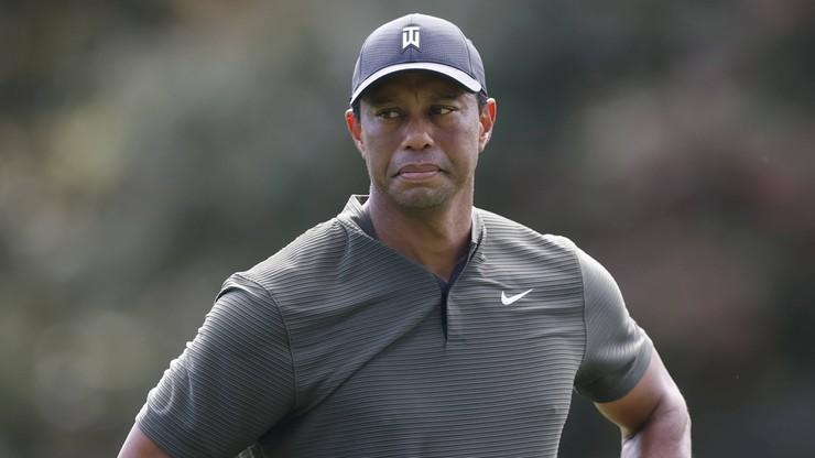 Tiger Woods poważnie ranny w wypadku
