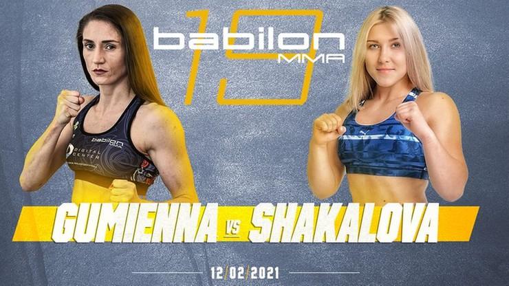 Babilon MMA 19: Róża Gumienna zmierzy się z Ekateriną Shakalovą