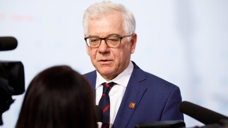 """""""Istnieją różnice między reparacjami dla Polski i dla państw Zachodu"""". Czaputowicz dla """"Der Spiegel"""""""