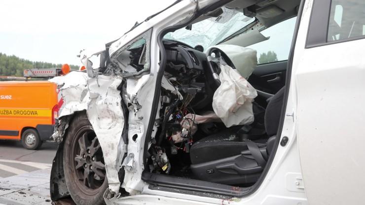 Warszawa. Wypadek z udziałem taksówki. Zginął pasażer