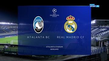 Atalanta Bergamo - Real Madryt 0:1. Skrót meczu