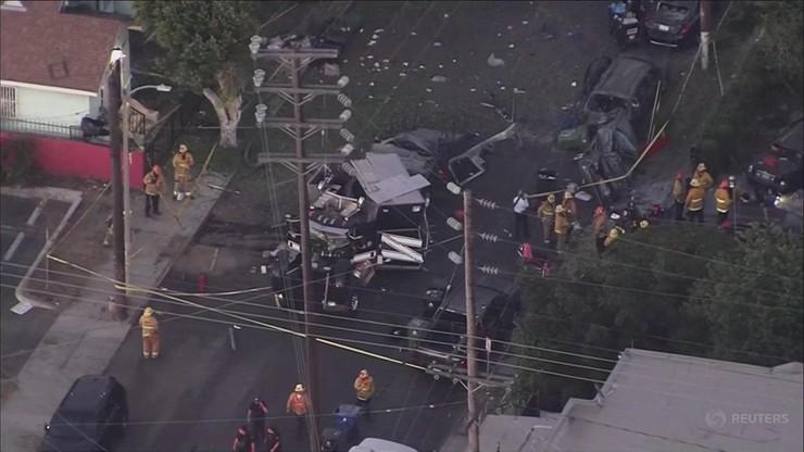 """""""Kontrolowana"""" detonacja 2,5 tony fajerwerków w Los Angeles. 17 osób rannych"""