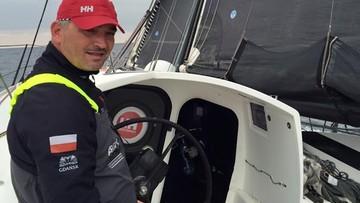 Polski żeglarz w samotnym rejsie dookoła świata. Właśnie minął równik