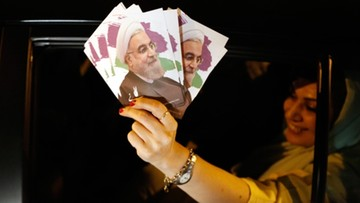 Hasan Rowhani wybrany prezydentem Iranu na drugą kadencję