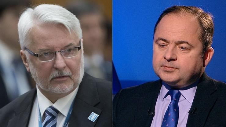 """""""Można zakwestionować wybór Tuska"""" - szef MSZ. """"Nie widzę wady prawnej"""" - wiceszef MSZ"""