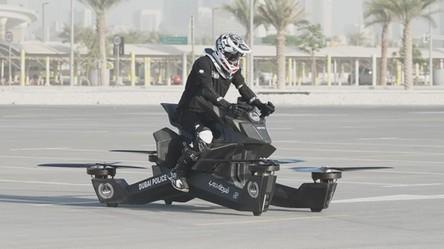 Dubajska policja będzie patrolowała ulice na latających motocyklach