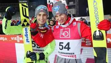 Polacy triumfują w Lillehammer. Stoch pierwszy, Kot drugi