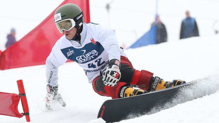 PŚ w snowboardzie: Polska dziewiąta w slalomie równoległym