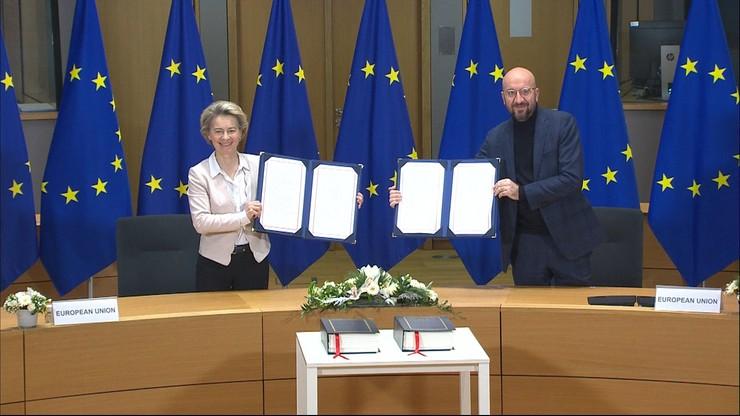 Umowa handlowa UE z Wielką Brytanią podpisana