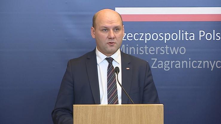 Wiceszef MSZ: mamy moralne i prawne podstawy, aby mówić o reparacjach wojennych od Niemiec