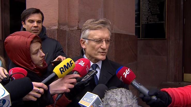 Przedstawiciel UE w Polsce Marek Prawda w MSZ. Został wezwany po wypowiedziach rzecznika KE
