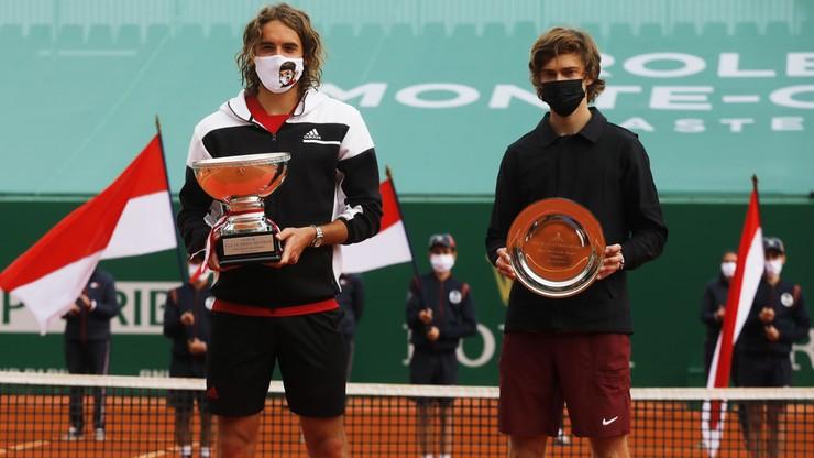 ATP w Monte Carlo: Stefanos Tsitsipas pokonał Andrieja Rublowa w finale