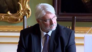 Szef MSZ: bezpieczeństwo najważniejszym tematem wizyty Trumpa w Polsce