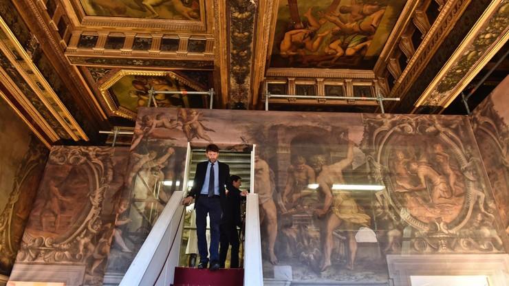 Przejście łączące dwa muzea otwarte po kilku wiekach