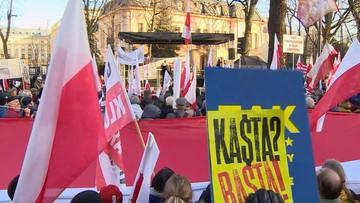 """""""My nie prosimy, my żądamy dokończenia reformy wymiaru sprawiedliwości"""""""