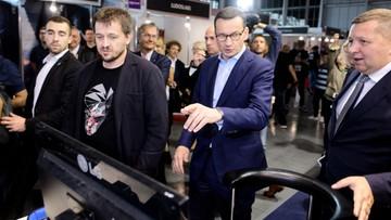 Morawiecki: wiosną pokażemy arenę treningową dla gamingu