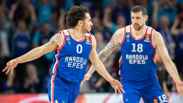 Euroliga: Anadolu Efes Stambuł do turnieju finałowego