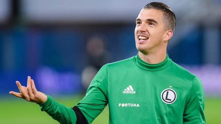 Lotto Ekstraklasa: Legia Warszawa wygrała z Cracovią po rzucie karnym w doliczonym czasie gry