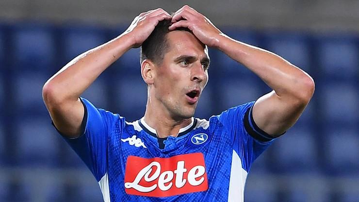 Aurelio De Laurentiis przyznał, że Arkadiusz Milik jest bliski odejścia z Napoli