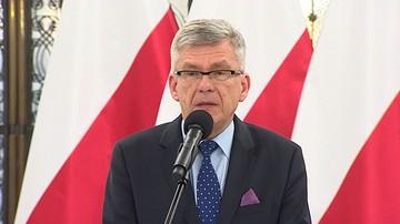Karczewski w Niemczech: rozwiązanie sytuacji wokół TK wewnętrzną sprawą Polski