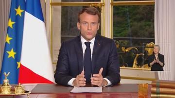 Macron: odbudujemy katedrę Notre Dame w ciągu pięciu lat