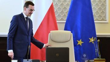 39 proc. badanych popiera rząd premiera Morawieckiego. Sondaż CBOS