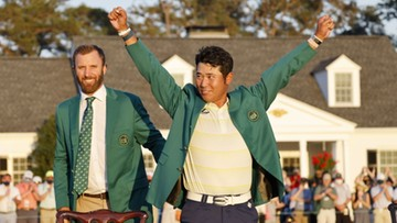 Matsuyama wygrał golfowy US Masters