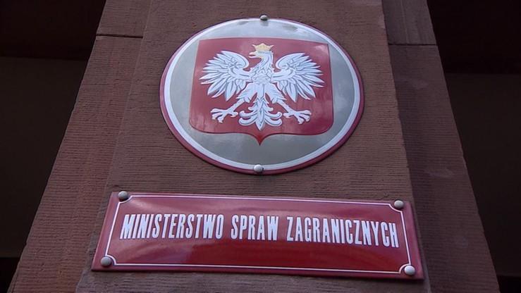 MSZ: rozmowy z Ukrainą ws. miejsc pamięci trudne, ale obu stronom zależy na współpracy