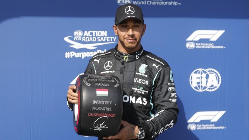 GP Węgier: Lewis Hamilton wywalczył pole position