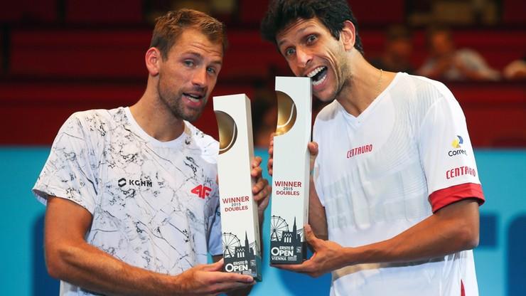 13 tytuł Kubota. Polak wygrał deblowy turniej w Wiedniu