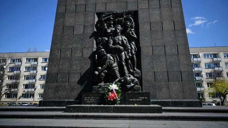 77. rocznica wybuchu powstania w getcie warszawskim. Obchody w dobie pandemii