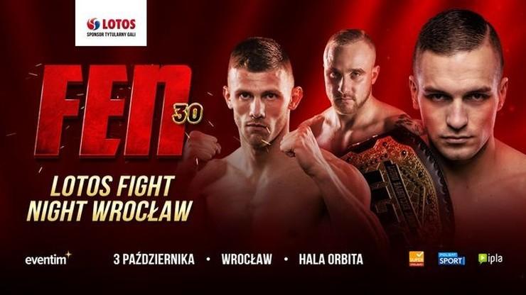 Ważenie przed galą FEN 30: Transmisja w Polsacie Sport News i na Polsatsport.pl. Wyniki wczesnego ważenia
