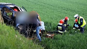 Tragiczny wypadek na prostej drodze. Nie żyje 25-latek