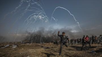 Protesty na granicy Strefy Gazy. Zginęło już 39 osób