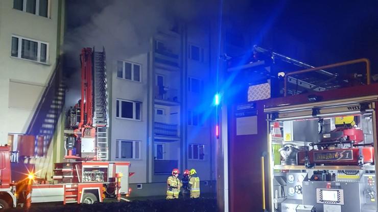 Lubuskie. Pożar mieszkania w Międzyrzeczu. Nie żyje 67-letnia kobieta