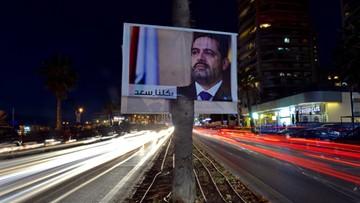 Premier Libanu ogłosił dymisję  i powiedział, że boi się o swoje życie. Prezydent chce wyjaśnień od Arabii Saudyjskiej