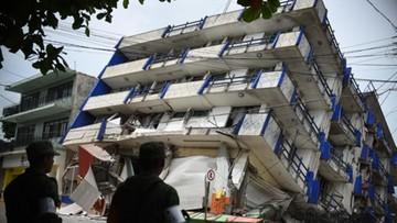 Rośnie liczba ofiar trzęsienia ziemi w Meksyku. Zginęło co najmniej 60 osób