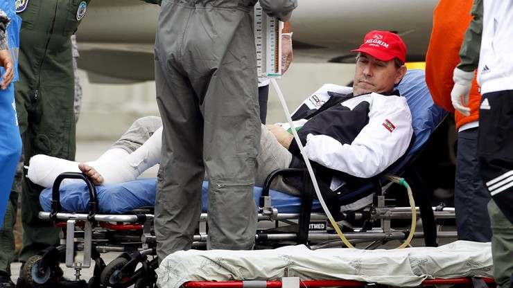 Przeżył katastrofę samolotu z piłkarzami Chapecoense. Zmarł na zawał po meczu z przyjaciółmi