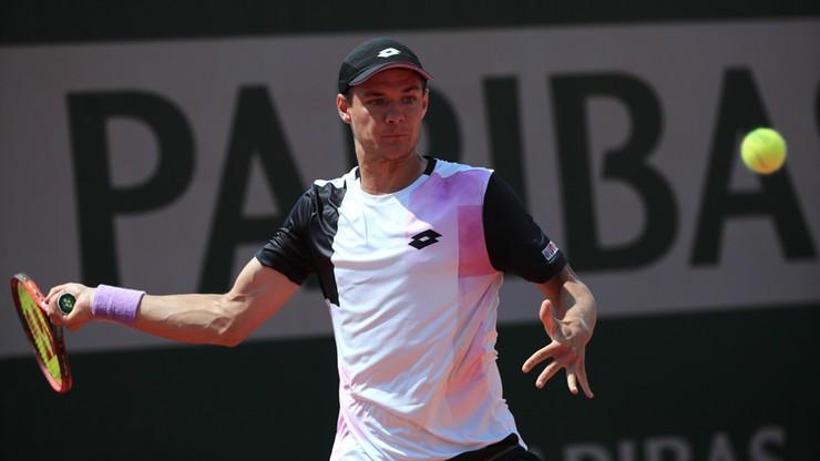 Roland Garros: Porażka Kamila Majchrzaka w drugiej rundzie