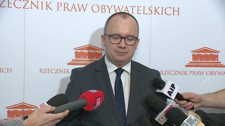 """Adam Bodnar kończy kadencję Rzecznika Praw Obywatelskich. """"Sytuacja wymaga kontynuacji misji"""""""