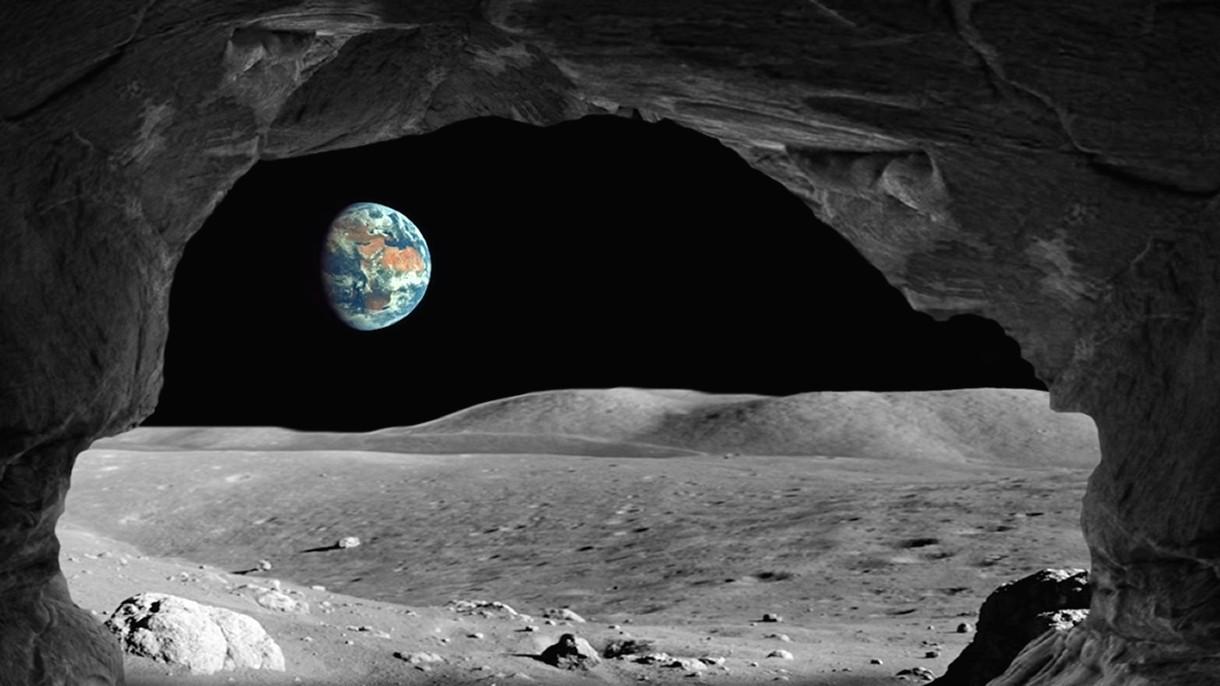 UE poszuka gigantycznych jaskiń na Księżycu, w których powstaną bazy