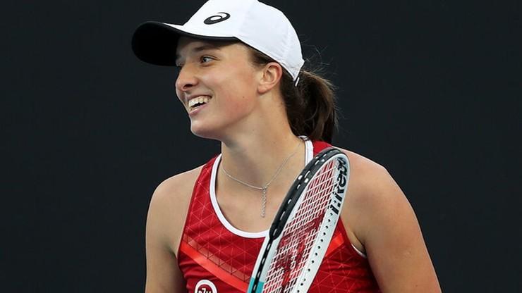 Iga Świątek awansuje do drugiej rundy Australian Open