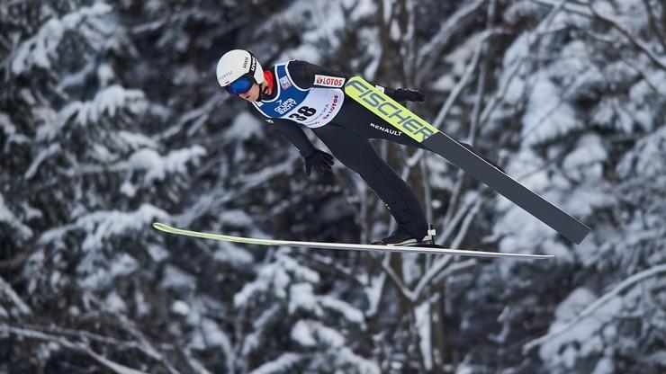Andrzej Stękała skoczył 150 metrów! Fenomenalny występ na treningu w Willingen