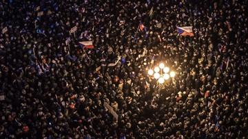 Czechy: rocznicowe uroczystości w cieniu protestów przeciwko premierowi