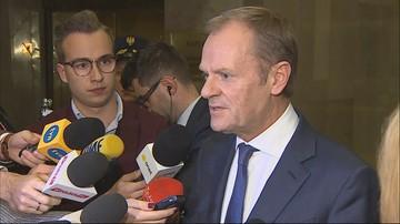Tusk: zaskoczyło mnie wyłączanie mi mikrofonu. To bez precedensu
