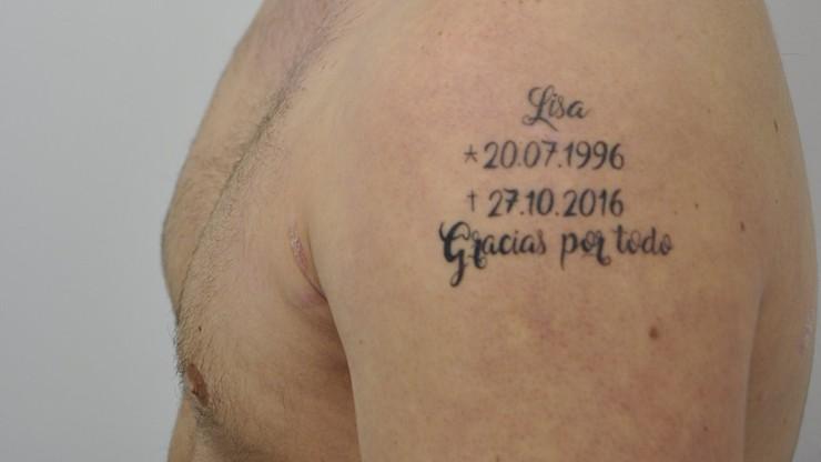 Zabił swoją dziewczynę. Na pamiątkę zrobił tatuaż z datą jej śmierci