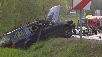Tragiczny długi weekend na drogach. W ponad 550 wypadkach zginęło 51 osób