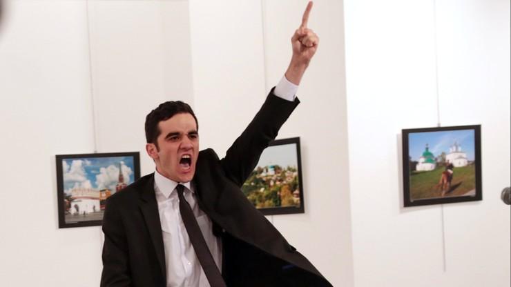 Zdjęcie przedstawiające zabójcę ambasadora wygrało World Press Photo