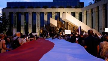 """Pikieta przed Sądem Najwyższym przeciw zmianom w sądownictwie. """"Bronimy polskiej praworządności"""""""